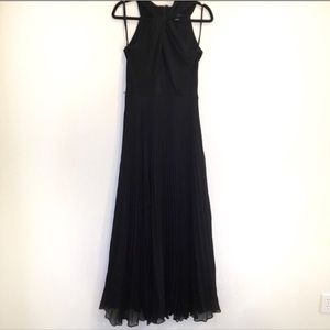 WHBM Black Maxi Dress